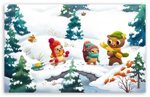 Happy Friends Winter Illustration UltraHD Wallpaper for Wide 16:10 5:3 Widescreen WHXGA WQXGA WUXGA WXGA WGA ; UltraWide 21:9 24:10 ; 8K UHD TV 16:9 Ultra High Definition 2160p 1440p 1080p 900p 720p ; UHD 16:9 2160p 1440p 1080p 900p 720p ; Standard 4:3 5:4 3:2 Fullscreen UXGA XGA SVGA QSXGA SXGA DVGA HVGA HQVGA ( Apple PowerBook G4 iPhone 4 3G 3GS iPod Touch ) ; Smartphone 16:9 3:2 5:3 2160p 1440p 1080p 900p 720p DVGA HVGA HQVGA ( Apple PowerBook G4 iPhone 4 3G 3GS iPod Touch ) WGA ; Tablet 1:1 ; iPad 1/2/Mini ; Mobile 4:3 5:3 3:2 16:9 5:4 - UXGA XGA SVGA WGA DVGA HVGA HQVGA ( Apple PowerBook G4 iPhone 4 3G 3GS iPod Touch ) 2160p 1440p 1080p 900p 720p QSXGA SXGA ; Dual 16:10 5:3 16:9 4:3 5:4 3:2 WHXGA WQXGA WUXGA WXGA WGA 2160p 1440p 1080p 900p 720p UXGA XGA SVGA QSXGA SXGA DVGA HVGA HQVGA ( Apple PowerBook G4 iPhone 4 3G 3GS iPod Touch ) ; Triple 4:3 5:4 UXGA XGA SVGA QSXGA SXGA ;