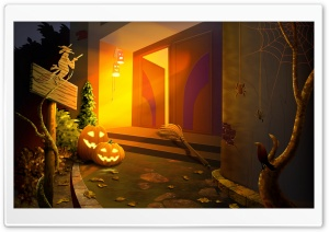 Happy Halloween Hallowmas HD Wide Wallpaper for 4K UHD Widescreen desktop & smartphone