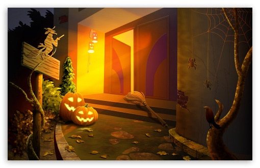 Happy Halloween Hallowmas HD wallpaper for Wide 16:10 5:3 Widescreen WHXGA WQXGA WUXGA WXGA WGA ; HD 16:9 High Definition WQHD QWXGA 1080p 900p 720p QHD nHD ; Standard 3:2 Fullscreen DVGA HVGA HQVGA devices ( Apple PowerBook G4 iPhone 4 3G 3GS iPod Touch ) ; Mobile 5:3 3:2 16:9 - WGA DVGA HVGA HQVGA devices ( Apple PowerBook G4 iPhone 4 3G 3GS iPod Touch ) WQHD QWXGA 1080p 900p 720p QHD nHD ;