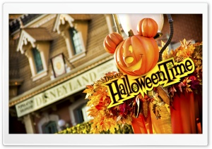 Happy Halloween Time HD Wide Wallpaper for Widescreen