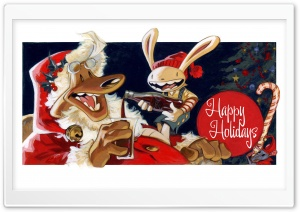 Happy Holidays HD Wide Wallpaper for Widescreen
