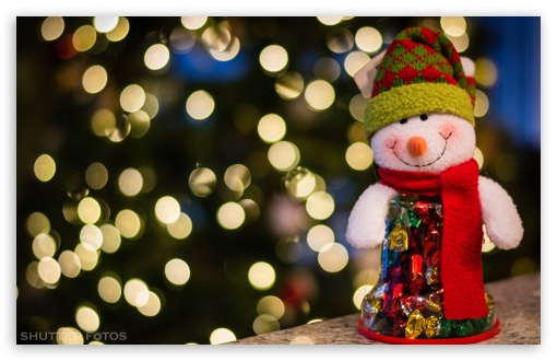 Happy Holidays 4K HD Desktop Wallpaper For 4K Ultra HD TV