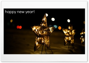 Happy New Year HD Wide Wallpaper for 4K UHD Widescreen desktop & smartphone