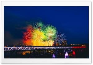Happy New Year Ultra HD Wallpaper for 4K UHD Widescreen desktop, tablet & smartphone