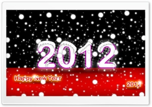 Happy New Year Design by Hamid Ayatipoor HD Wide Wallpaper for Widescreen