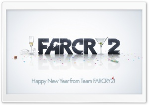 Happy New Year From Team Farcry Ultra HD Wallpaper for 4K UHD Widescreen desktop, tablet & smartphone