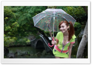 Happy Rainy Day HD Wide Wallpaper for Widescreen