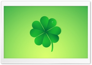 Happy Saint Patricks Day Lucky Clover Ultra HD Wallpaper for 4K UHD Widescreen desktop, tablet & smartphone