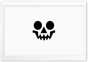 Happy Skull HD Wide Wallpaper for Widescreen
