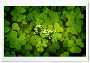 Happy St. Patricks Day HD Wide Wallpaper for 4K UHD Widescreen desktop & smartphone