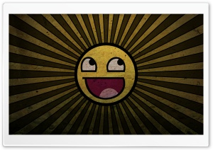 Happy Sun HD Wide Wallpaper for Widescreen