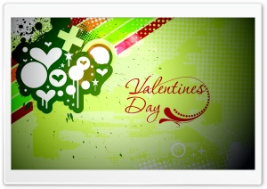Happy Valentines Day 2012 HD Wide Wallpaper for Widescreen