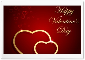Happy Valentines Day HD Wide Wallpaper for 4K UHD Widescreen desktop & smartphone