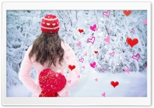 Happy Valentines Day Background HD Wide Wallpaper for Widescreen
