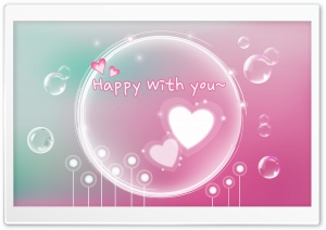 Happy With You Ultra HD Wallpaper for 4K UHD Widescreen desktop, tablet & smartphone