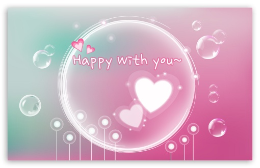 Happy With You HD wallpaper for Wide 16:10 5:3 Widescreen WHXGA WQXGA WUXGA WXGA WGA ; HD 16:9 High Definition WQHD QWXGA 1080p 900p 720p QHD nHD ; Standard 3:2 Fullscreen DVGA HVGA HQVGA devices ( Apple PowerBook G4 iPhone 4 3G 3GS iPod Touch ) ; Mobile 5:3 3:2 16:9 - WGA DVGA HVGA HQVGA devices ( Apple PowerBook G4 iPhone 4 3G 3GS iPod Touch ) WQHD QWXGA 1080p 900p 720p QHD nHD ;