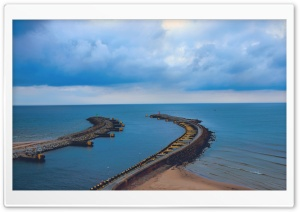 Harbor Entrance Ultra HD Wallpaper for 4K UHD Widescreen desktop, tablet & smartphone