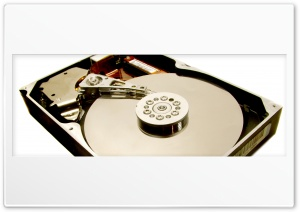 Hard Disk HD Wide Wallpaper for Widescreen