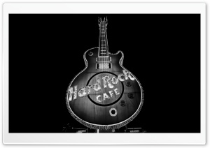 Hard Rock Cafe, Las Vegas HD Wide Wallpaper for Widescreen