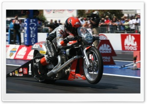 Harley Davidson Dragster HD Wide Wallpaper for Widescreen