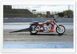Harley Davidson Dragster 2 HD Wide Wallpaper for Widescreen