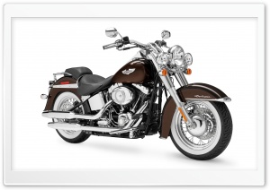 Harley-Davidson FLSTN Softail Deluxe 2011 HD Wide Wallpaper for 4K UHD Widescreen desktop & smartphone