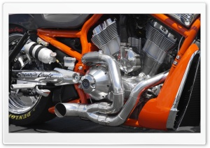 Harley Davidson Motorcycle Engine 1 HD Wide Wallpaper for Widescreen