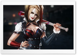 Harley Quinn Batman Arkham Origins HD Wide Wallpaper for 4K UHD Widescreen desktop & smartphone