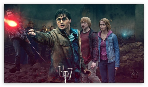Harry Potter - Battle of Hogwarts - Harrys Side ❤ 4K UHD Wallpaper for 4K UHD 16:9 Ultra High Definition 2160p 1440p 1080p 900p 720p ; Mobile 16:9 - 2160p 1440p 1080p 900p 720p ;