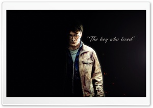 Harry Potter - The boy who lived HD Wide Wallpaper for 4K UHD Widescreen desktop & smartphone