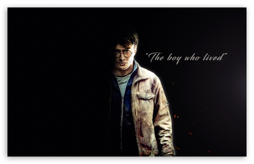 Download Harry Potter - The boy who lived HD Wallpaper