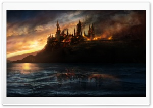 Harry Potter And The Deathly Hallows HD Wide Wallpaper for 4K UHD Widescreen desktop & smartphone