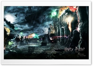 Harry Potter And The Deathly Hallows Ultra HD Wallpaper for 4K UHD Widescreen desktop, tablet & smartphone