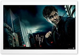 Harry Potter And The Deathly Hallows - Harry HD Wide Wallpaper for Widescreen