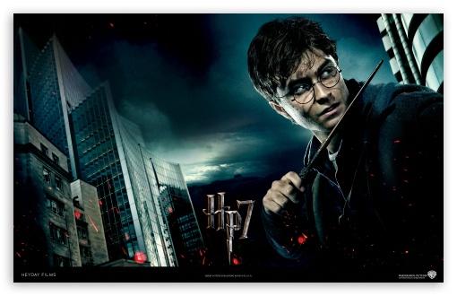 Harry Potter And The Deathly Hallows - Harry HD wallpaper for Wide 16:10 5:3 Widescreen WHXGA WQXGA WUXGA WXGA WGA ; Standard 4:3 5:4 Fullscreen UXGA XGA SVGA QSXGA SXGA ; iPad 1/2/Mini ; Mobile 4:3 5:3 5:4 - UXGA XGA SVGA WGA QSXGA SXGA ;