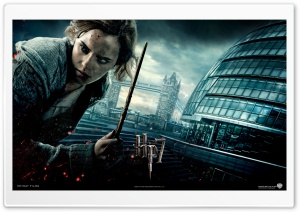 Harry Potter And The Deathly Hallows - Hermione HD Wide Wallpaper for Widescreen