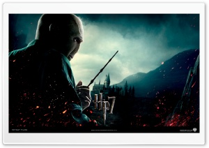 Harry Potter And The Deathly Hallows - Lord Voldemort HD Wide Wallpaper for Widescreen