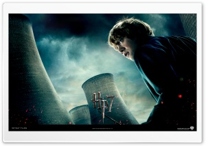 Harry Potter And The Deathly Hallows - Ron HD Wide Wallpaper for Widescreen