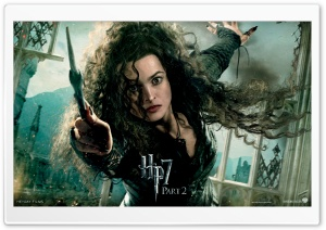 Harry Potter And The Deathly Hallows Ending - Bellatrix HD Wide Wallpaper for Widescreen