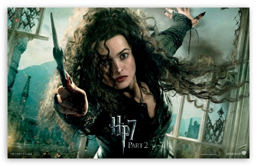 Harry Potter And The Deathly Hallows Ending - Bellatrix HD wallpaper for Wide 16:10 5:3 Widescreen WHXGA WQXGA WUXGA WXGA WGA ; Mobile 5:3 16:9 - WGA WQHD QWXGA 1080p 900p 720p QHD nHD ;