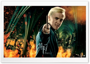 Harry Potter And The Deathly Hallows Ending - Draco HD Wide Wallpaper for Widescreen