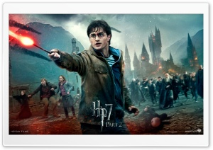 Harry Potter And The Deathly Hallows Final Battle HD Wide Wallpaper for 4K UHD Widescreen desktop & smartphone