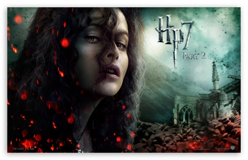 Harry Potter And The Deathly Hallows Part 2 Bellatrix HD wallpaper for Wide 16:10 5:3 Widescreen WHXGA WQXGA WUXGA WXGA WGA ; Mobile 5:3 - WGA ;
