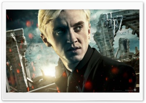 Harry Potter And The Deathly Hallows Part 2 Draco HD Wide Wallpaper for Widescreen