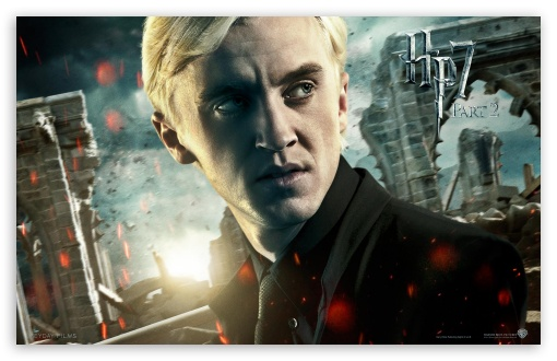 Harry Potter And The Deathly Hallows Part 2 Draco HD wallpaper for Wide 16:10 5:3 Widescreen WHXGA WQXGA WUXGA WXGA WGA ; Mobile 5:3 - WGA ;