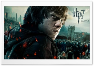 Harry Potter And The Deathly Hallows Part 2 Ron HD Wide Wallpaper for Widescreen
