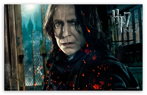 Harry Potter And The Deathly Hallows Part 2 Snape ❤ 4K UHD Wallpaper for Wide 16:10 5:3 Widescreen WHXGA WQXGA WUXGA WXGA WGA ; Mobile 5:3 - WGA ;