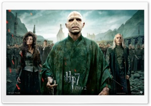 Harry Potter And The Deathly Hallows Part 2 Villains HD Wide Wallpaper for Widescreen