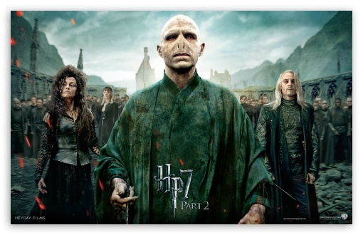 Harry Potter And The Deathly Hallows Part 2 Villains HD wallpaper for Wide 16:10 5:3 Widescreen WHXGA WQXGA WUXGA WXGA WGA ; Mobile 5:3 - WGA ;