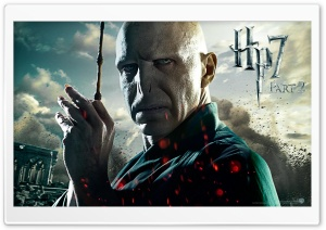 Harry Potter And The Deathly Hallows Part 2 Voldemort HD Wide Wallpaper for Widescreen